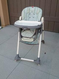 Baby crib, high chair, and stroller available upon request!