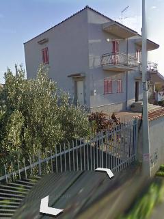 Esterno: Ingresso appartamento turistico, in villa