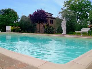 Toscana: Villa 12px + piscina panoramica, Marciano della Chiana
