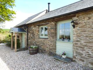OLD TETHER BARN, mostly ground floor, woodburner, garden and patio, near Crymych