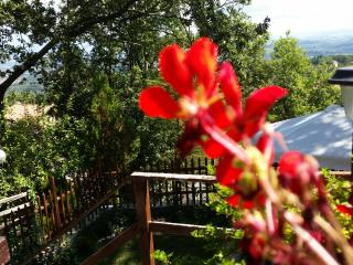 Casa vacanze panoramicissima,zona tranquilla, Sarteano