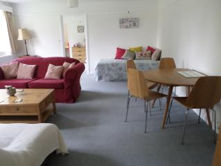 Plenty of space for dining and relaxing.  This is where we put up a double bed & 2 singles if needed