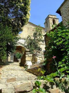 Church ruins in Baiardo
