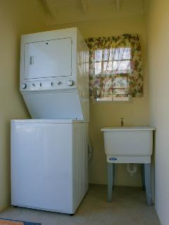 Wash room with washer/ Dryer system