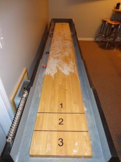 12foot shuffleboard table