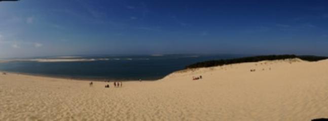 Dune du Pyla et le banc d Arguin.