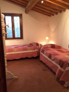 La camera a due letti