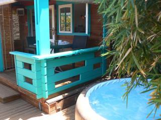 LE TI JENJU bungalow de charme à 400 m du lagon, La Saline-les-Bains