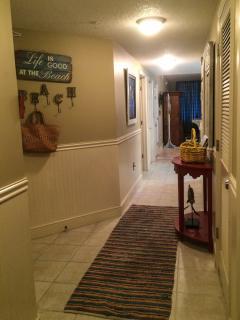 welcome entrance hallway