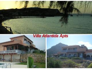 Luxury  Atlantida Villa Apts with pool and seaview, Almyrida