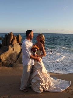 Typical Pedregal Beach Weddings almost daily