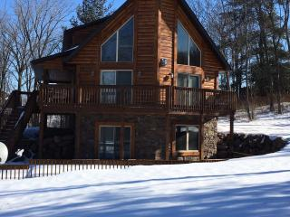 Beautiful custom designed log home built in 2011, Wisconsin Dells