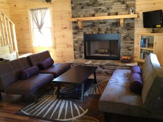 Private Cabin, Hot Tub, Fire Place & Dogs Welcome!, Ellijay