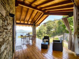 I FAGGI Country House with great LAKE VIEW  in Levo on the hills of Stresa