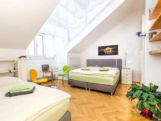 Luxury Penthouse apartment in 02. Leopoldstadt with WiFi, air conditioning, balc