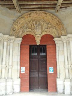 The church, front door