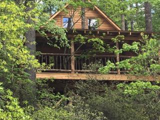 Rushing Waters River Tree house cabin, Tallulah Falls