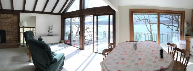 Panoramic shot of the ground floor living area