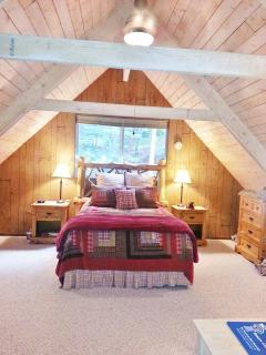 Loft master suite