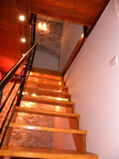 Staircase leading to first floor
