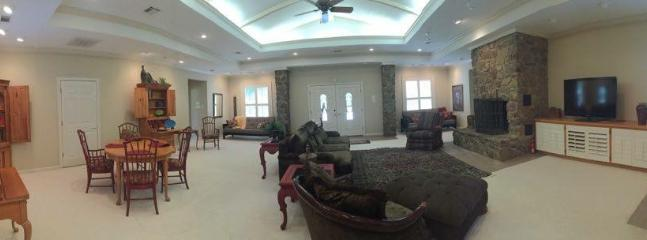 2 sleeper sofas are in this room for additional guests