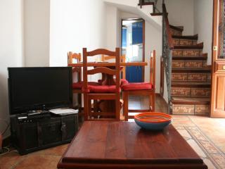 Woonkamer en aparte keuken