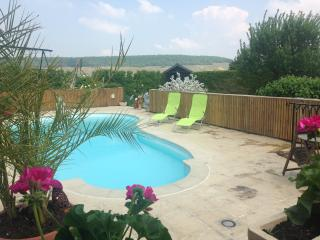 Chambre Laura avec accès piscine, Brugny-Vaudancourt