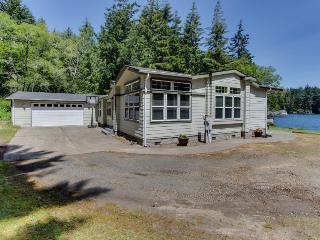 Spacious, waterfront, dog-friendly home w/ dock & private hot tub