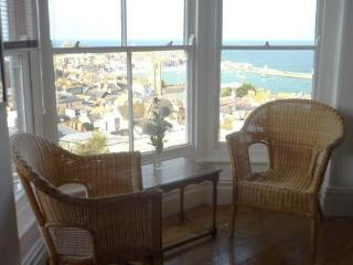Large four bedroom apartment, amazing sea views., St Ives