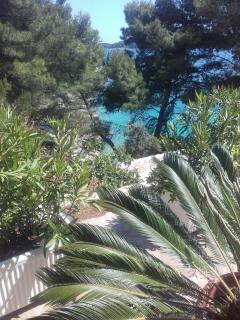 Great location just few meters from the sea