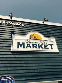 Union Pier Market recently opened and has everything you'll need and has a great selection of wines.