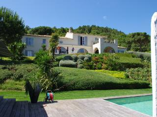 Luxury Villa off the Route des Plages, St Tropez.