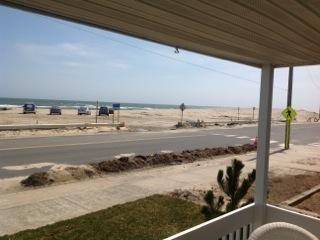 the beach is just across the street with no homes on then other side
