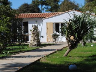 Maison avec un jardin arboré dans la pinède