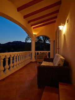 Balcony in the Evening