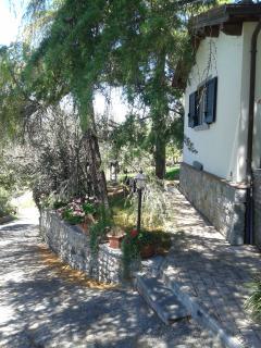 Cottage lato ingresso pricipale