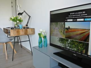 Flatscreen TV with digi-box & sonos sound system to upload your own play list