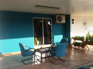 Totally Private & Roofed Balcony with seats & coffee table for your Breakfast, coffee time, etc.