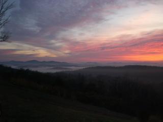 Enjoy Gorgeous Long Range Layered Mountain Views, Blue Ridge