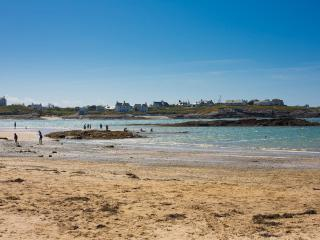Just 5 minutes walk from the Blue Flag Beach of Trearddur Bay