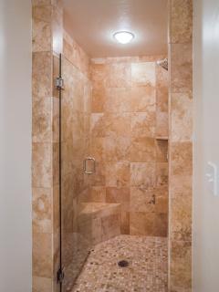 Main Level shower.