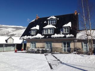 La maison au ceour de la montagne