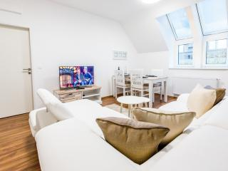 Deluxe 2 Bedroom Apartment close to Metro Line #7, Viena