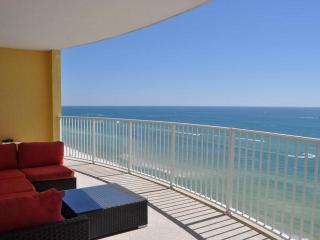 PS BEACHFRONT * TWIN PALMS 2 bed 2 bath ON BEACH!!, Panama City Beach