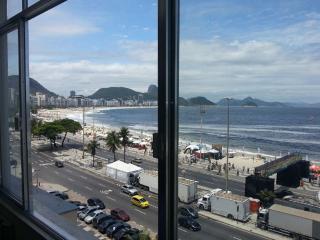 Beach Front Copacabana Spectacular View, Rio de Janeiro