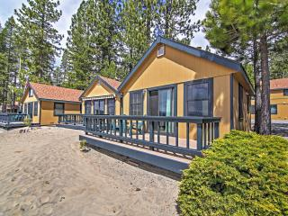 New Listing! Lakefront 1BR Tahoe Vista Cabin w/Wifi, Private Deck & Breathtaking Lake Views - Close to an Abundance of Amazing Outdoor Attractions!