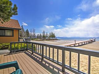 Lakefront 1BR Tahoe Vista Cabin w/Private Deck