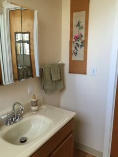 Half bath n master bedroom