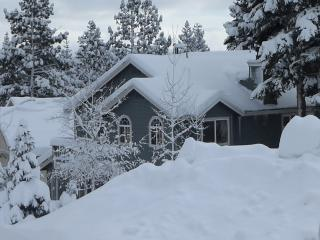 Ski, hike, fish from this  Mammoth Mountain House