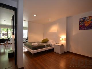 AMBER - 1 Bed Executive Studio Apartment with queen size bed (Zona T / Andino), Bogota